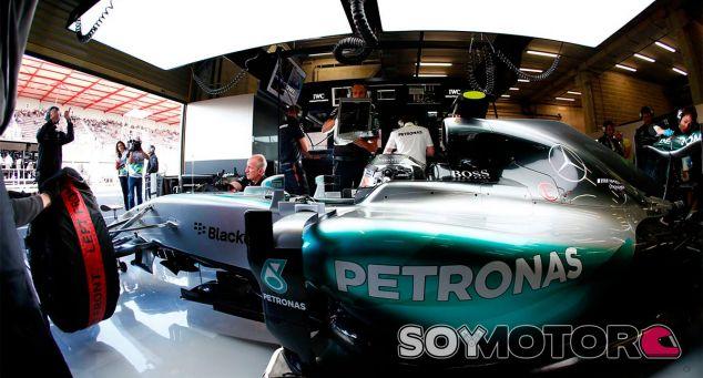 Nico Rosberg en el pasado Gran Premio de Bélgica - LaF1