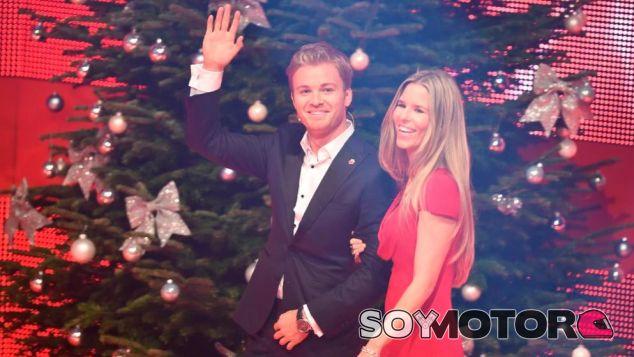 Nico Rosberg y Vivian, ayer - LaF1