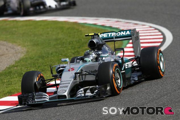 Rosberg vio condicionada su carrera en Japón por una pérdida de potencia, según Wolff - LaF1