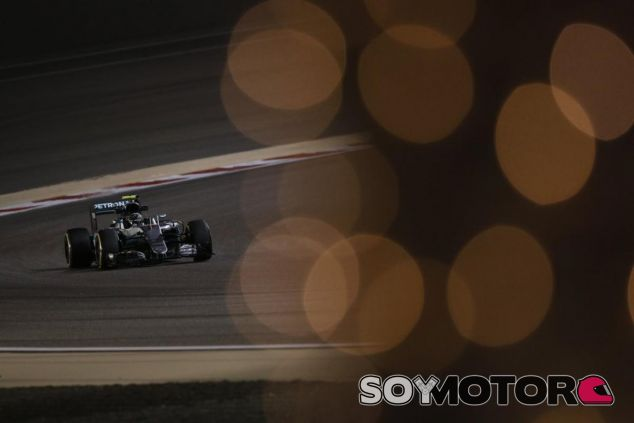 Rosberg se ha mostrado fuerte en el primer día de entrenamientos en Baréin - LaF1