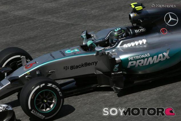 Nico Rosberg con el Mercedes - LaF1