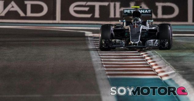Rosberg en Abu Dabi - SoyMotor