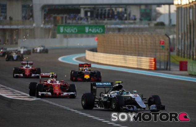 Rosberg en su última carrera como piloto de Fórmula 1 - SoyMotor