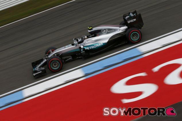 Rosberg ha liderado las dos primeras jornadas de entrenamientos - LaF1