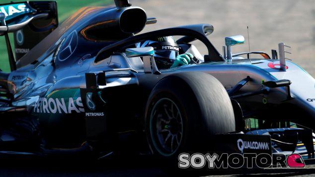 Rosberg ha sido uno de los elegidos en usar el halo - LaF1
