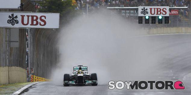 Mercedes en el GP de Brasil F1 2013: Sábado