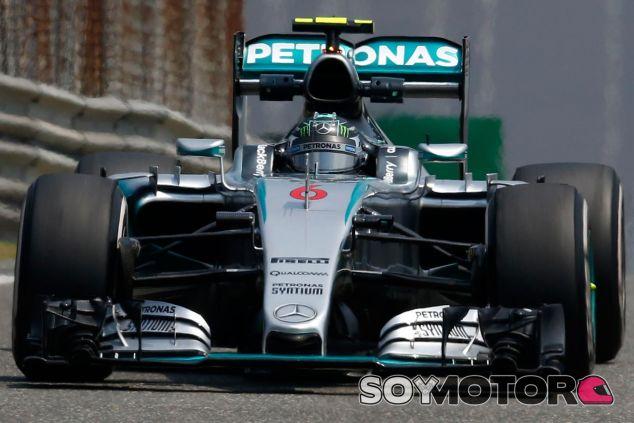 Nico Rosberg en el Gran Premio de China - LaF1