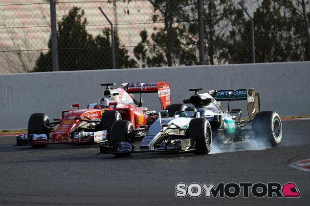Nico Rosberg espera un duro desafío por parte de Ferrari - LaF1