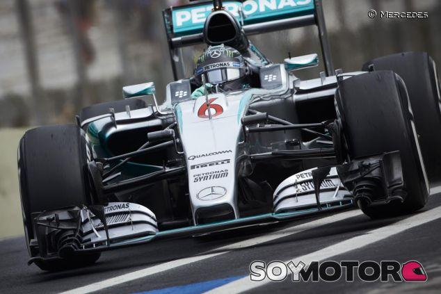 Nico Rosberg en el pasado Gran Premio de Brasil - LaF1