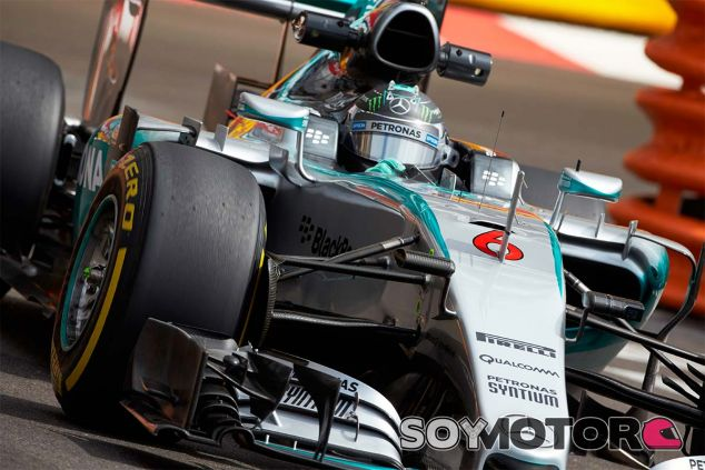Nico Rosberg, ayer en Mónaco - LaF1