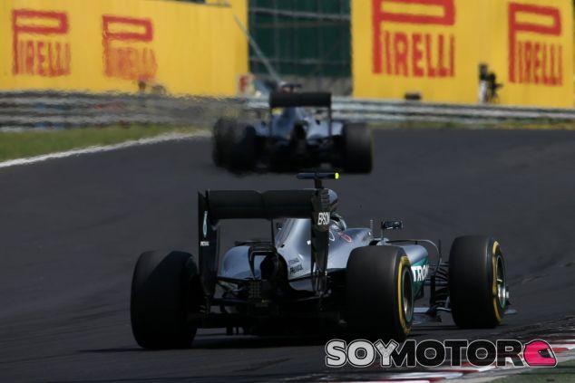Rosberg no pudo con Hamilton - LaF1