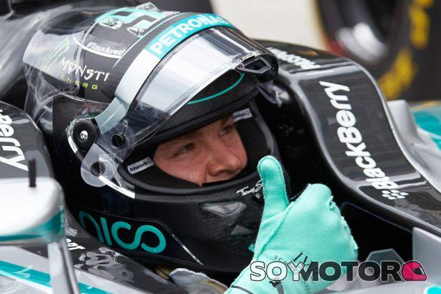 Nico Rosberg tras la clasificación de Brasil - LaF1