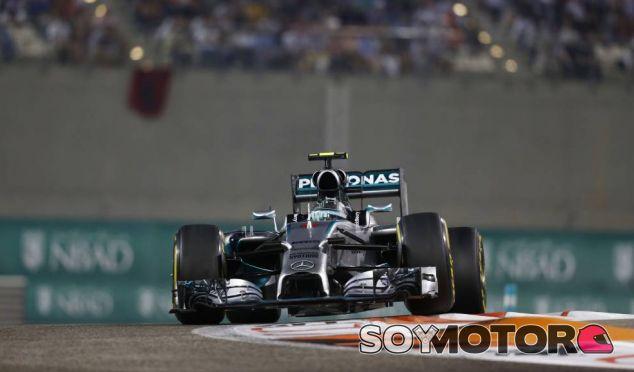 Nico Rosberg en el GP de Abu Dabi 2014 - LaF1