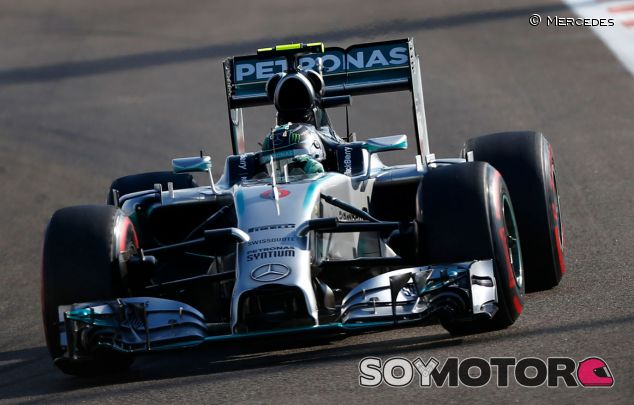 Nico Rosberg en Abu Dabi - LaF1
