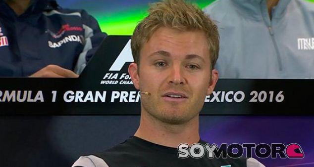 Rosberg, durante la rueda de prensa en México - LaF1