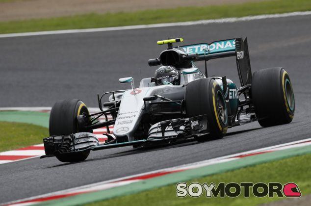 Rosberg consigue la tercera Pole Position consecutiva en Suzuka - LaF1