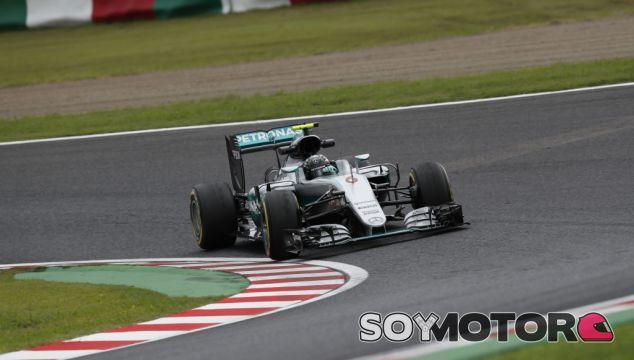 Rosberg durante el GP de Japón - LaF1