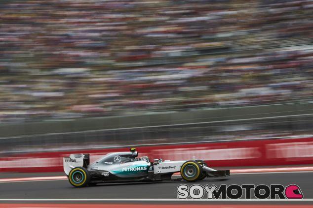 Rosberg empieza enchufado en México con su quinta Pole del año - LaF1