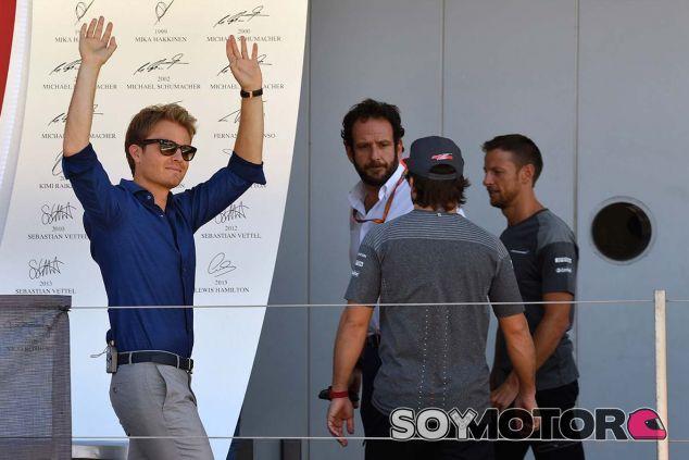 Nico Rosberg en Suzuka - SoyMotor.com
