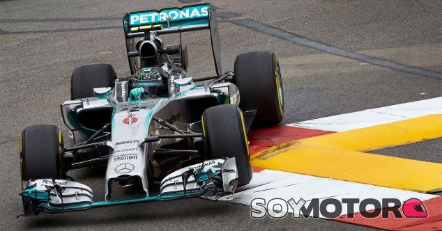Nico Rosberg en las calles del Principado - LaF1
