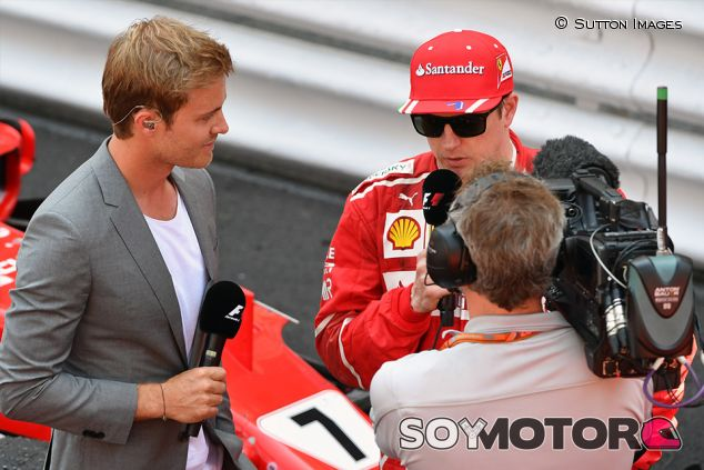 Nico Rosberg y Kimi Räikkönen en Mónaco - SoyMotor.com