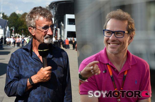 Eddie Jordan y Jacques Villeneuve - LaF1