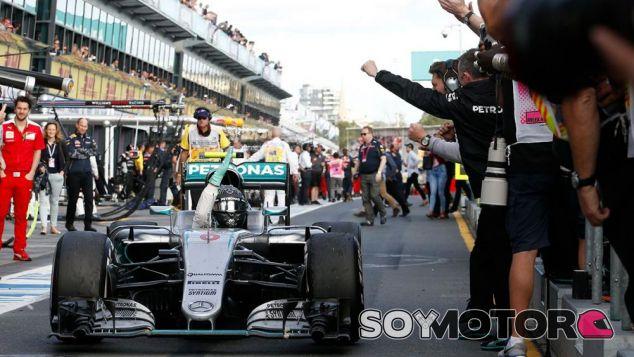 Nico Rosberg en Australia - LaF1
