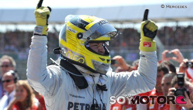 Nico Rosberg gana el GP de Gran Bretaña 2013