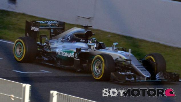 Nico Rosberg, hoy en el Circuit de Barcelona-Catalunya - LaF1