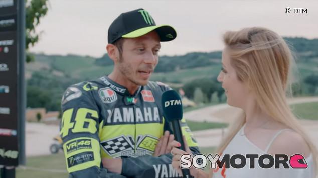 Valentino Rossi promete que correrá en el DTM - SoyMotor.com