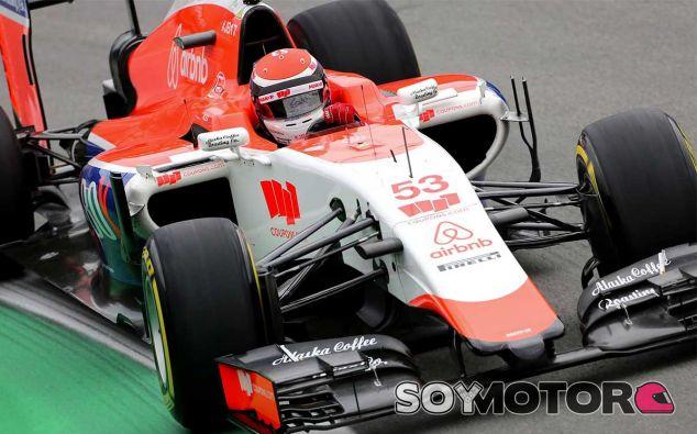 Alexander Rossi en Brasil - LaF1