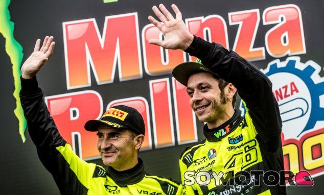 Valentino Rossi en el Monza Rally Show - SoyMotor