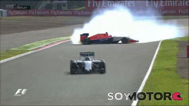 Stevens dio el susto en las últimas vueltas - LaF1