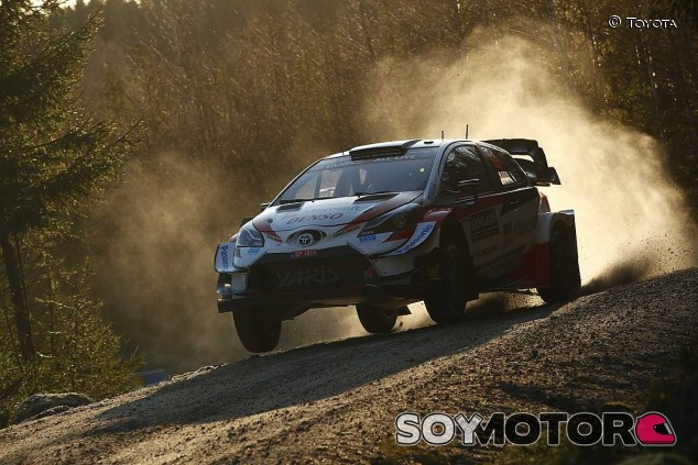 Toyota domina un Shakedown sin nieve en Suecia - SoyMotor.com