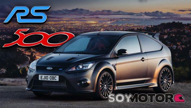 Rumores nuevo Ford FOcus RS500 2017