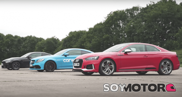 RS5 vs M4 vs C63 - SoyMotor.com