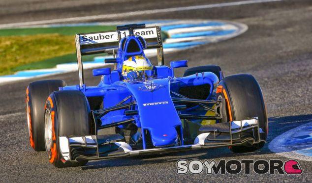 El C34 de Sauber-Ferrari en Jerez - LaF1.es