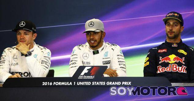 Rueda de prensa del GP de Estados Unidos F1 2016: Sábado - SoyMotor.com
