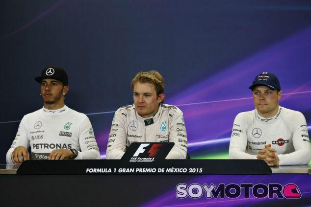 Los tres hombres del podio en el GP de México - LaF1