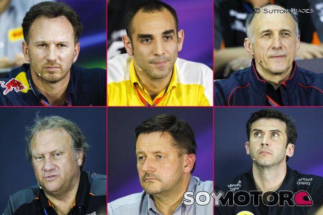 Los seis protagonistas de la segunda rueda de prensa de Malasia - LaF1