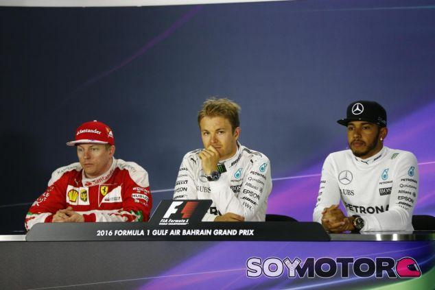 Rosberg vence por delante de Räikkönen y Hamilton - LaF1