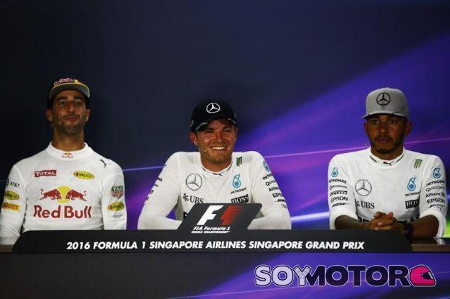 Protagonistas de la carrera en Singapur - LaF1
