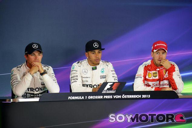 GP de Austria F1 2015: Rueda de prensa del sábado