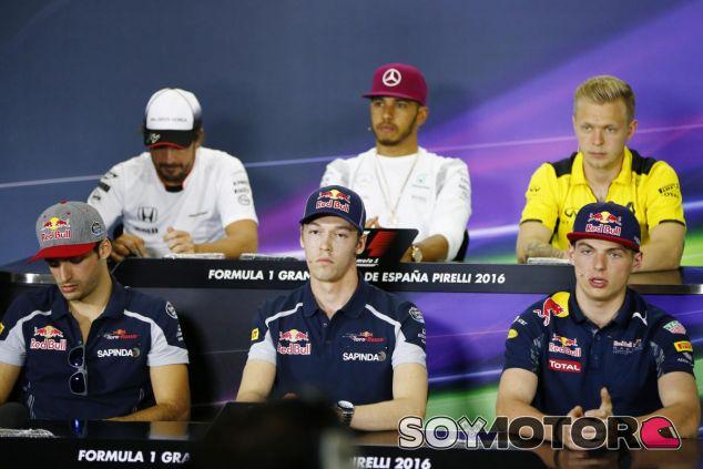 Rueda de prensa del GP de España - LaF1