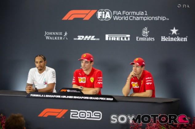 GP de Singapur F1 2019: rueda de prensa del sábado - SoyMotor.com