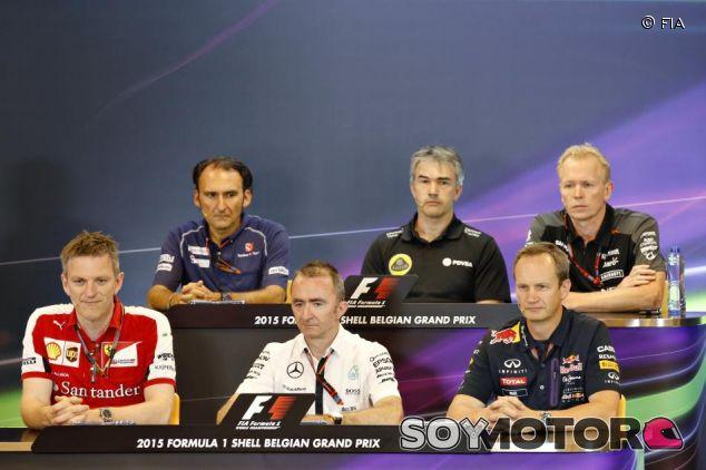 Allison, Lowe, Monaghan, Dall'Ara, Chester y Green, en la rueda de prensa de la FIA - LaF1