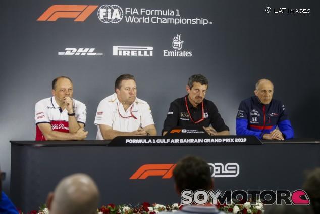 GP de Baréin F1 2019: Rueda de prensa del viernes - SoyMotor.com