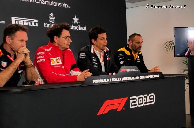 GP de Australia F1 2019: Rueda de prensa del viernes - SoyMotor.com