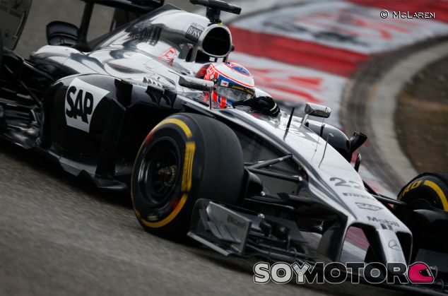 Jenson Button en el Gran Premio de China - LaF1