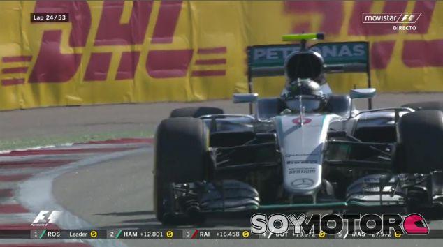 GP de Rusia F1 2016: Carrera Minuto a Minuto